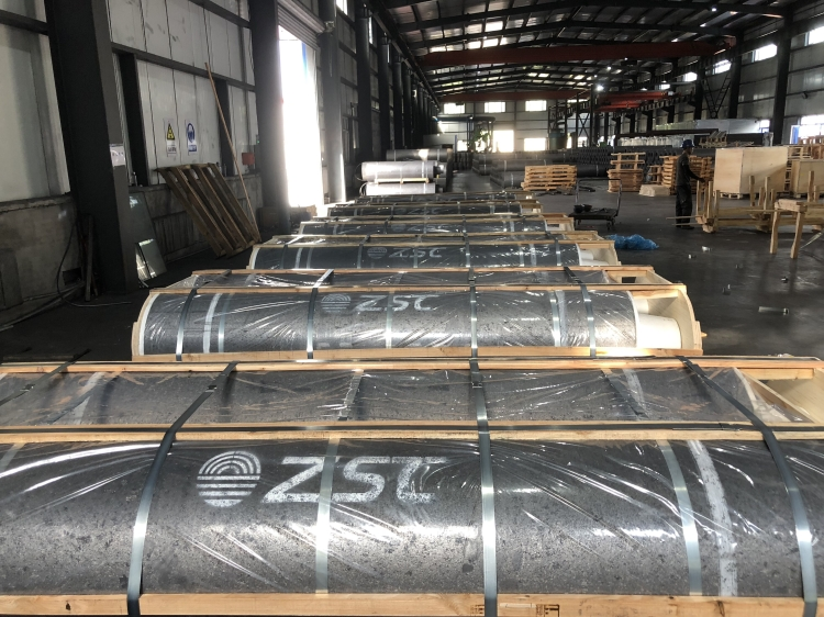 SKS cooperated with ZSC for UHP650x2700 graphite electrode
