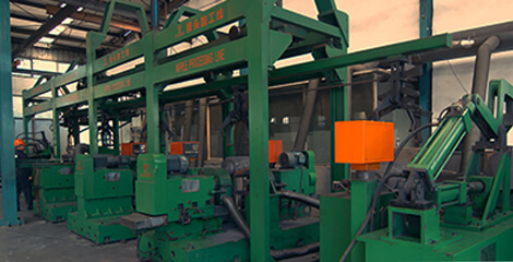 Full-automatic nipple production line of Graphite Electrode